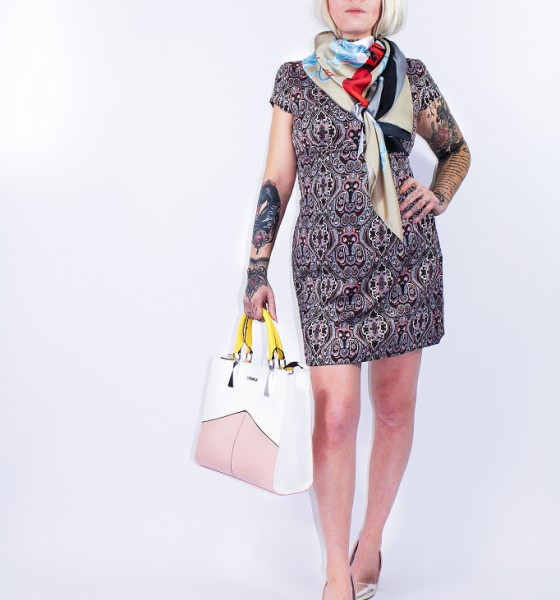 New Look Orsay Jaquard Dress