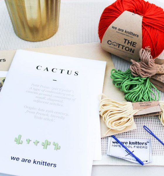 Sticken mit We are Knitters