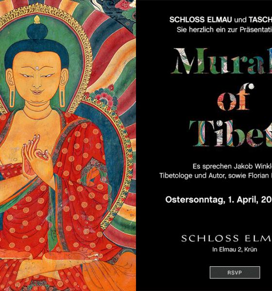 """TASCHEN Store Präsentation von """"Murals of Tibet"""""""