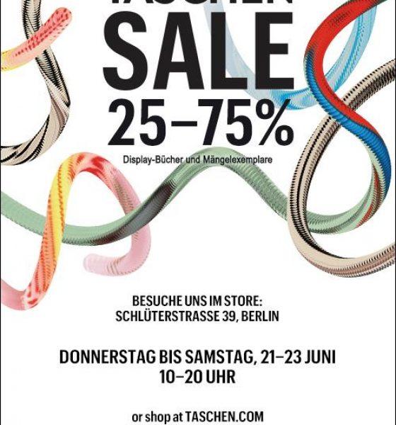 Warehouse Sale beim TASCHEN Verlag+Gewinnspiel