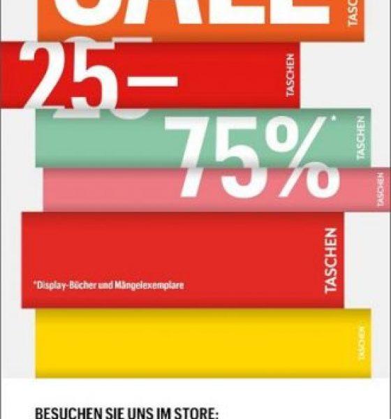 Neujahrs Sale beim TASCHEN Verlag +Gewinnspiel