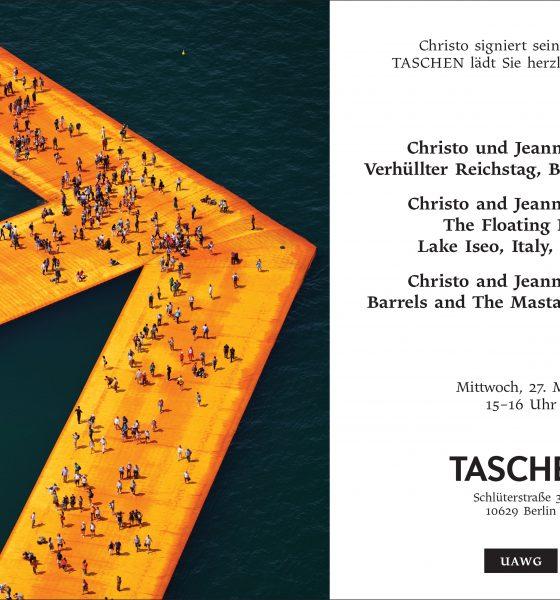 Signierstunde mit Christo im TASCHEN Store Berlin + Gewinnspiel