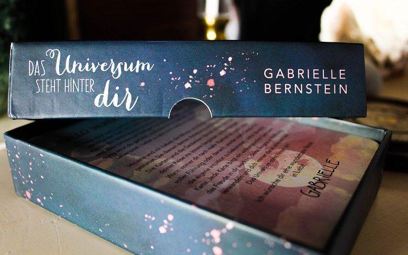 Das Universum Steht hinter dir Kartendeck- Review