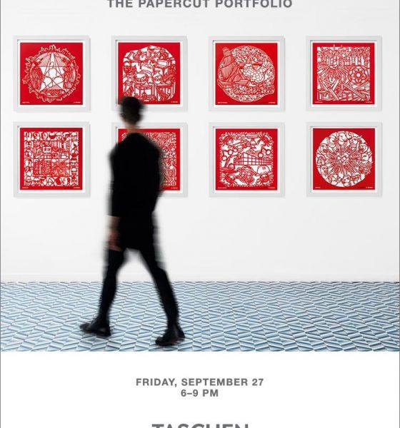 Ausstellungseröffnung von Ai Weiwei – The Papercut Portfolio im Taschen Store Berlin