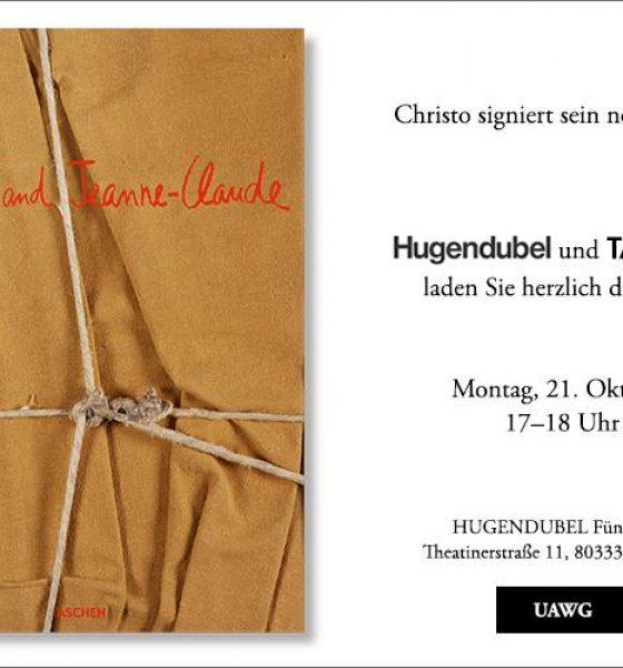 Signierstunde mit Christo – Hugendubel München