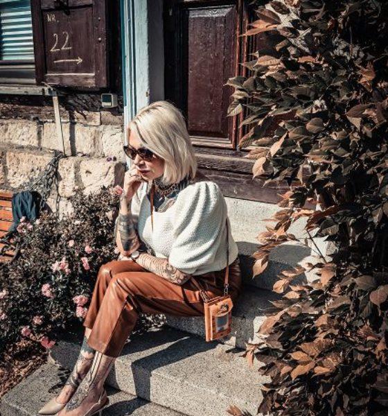 Chic in Strick-Trend Outfit für Herbst und Winter