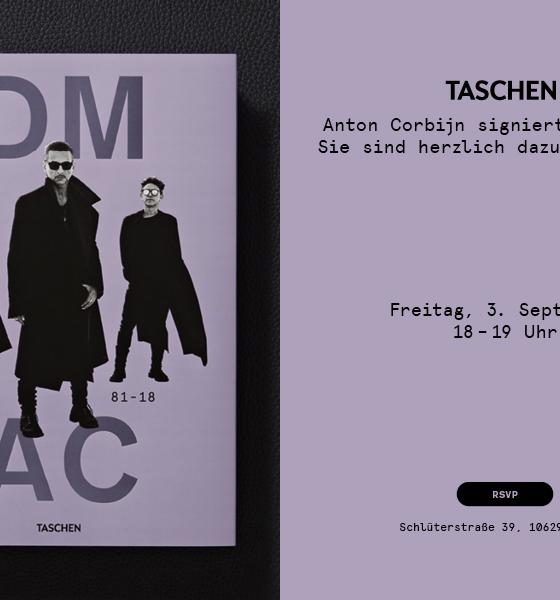 Depeche Mode – Signierstunde by Anton Corbijn